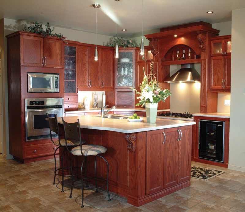 Traditional House Plan Kitchen Photo 01 032D-0427