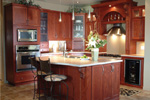 Country French Home Plan Kitchen Photo 01 - 032D-0427 | House Plans and More
