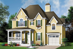 Triple Gables And A Wide Porch Add Country Charm