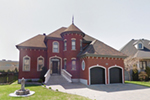 Brick Two-Story Home With Turret