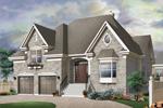 Brick Home Has Private Raised Front Porch