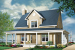 Bungalow House Plan Front Image - 032D-0455 | House Plans and More