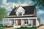 Bungalow House Plan Front Photo 01 - 032D-0455 | House Plans and More