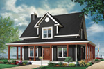 Bungalow House Plan Front Photo 02 - 032D-0455 | House Plans and More