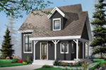 Saltbox House Plan Front Photo 03 - 032D-0456 | House Plans and More