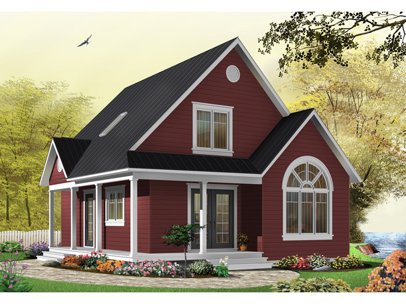 Traditional House Plan Front Photo 04