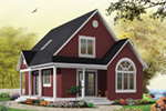 Vacation House Plan Front Photo 04 - 032D-0458 | House Plans and More