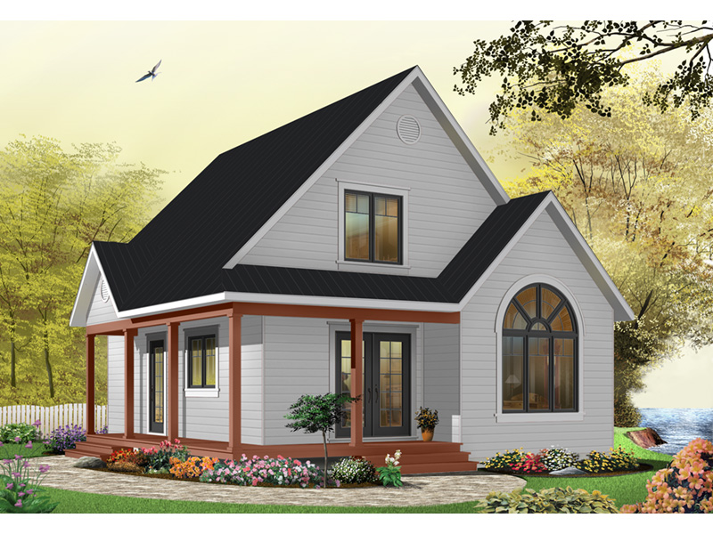 Arts & Crafts House Plan Front Photo 05 - 032D-0458 | House Plans and More
