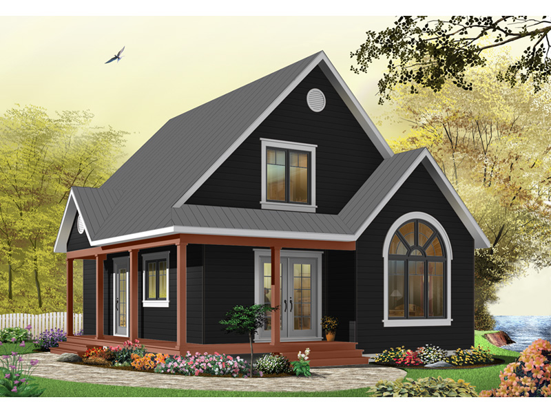 Craftsman House Plan Front Photo 06 - 032D-0458 | House Plans and More
