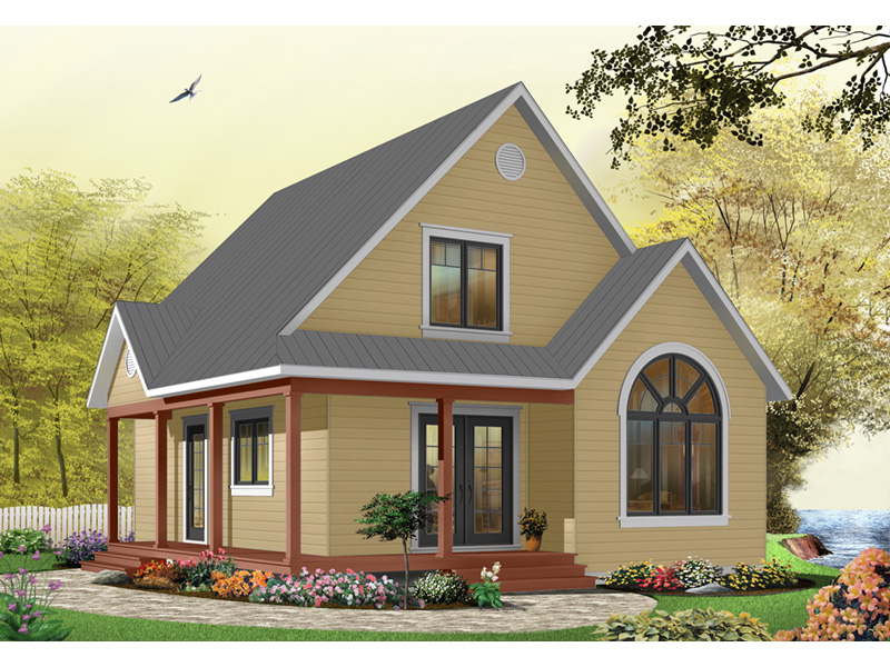 Craftsman House Plan Front Photo 07 - 032D-0458 | House Plans and More
