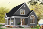 Craftsman House Plan Front Photo 08 - 032D-0458 | House Plans and More