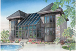 Lake House Plan Rear Photo 02 - 032D-0461 | House Plans and More