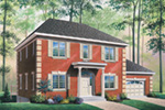 Traditional House Plan Front Image - 032D-0466 | House Plans and More