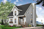 Traditional House Plan Front Photo 01 - 032D-0466 | House Plans and More