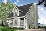 Traditional House Plan Front Photo 03 - 032D-0466 | House Plans and More