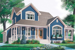 Southern House Plan Front Photo 02 - 032D-0468 | House Plans and More