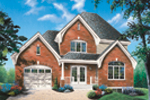 Traditional House Plan Front Photo 02 - 032D-0469 | House Plans and More