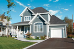 Victorian House Plan Front Photo 01 - 032D-0474 | House Plans and More
