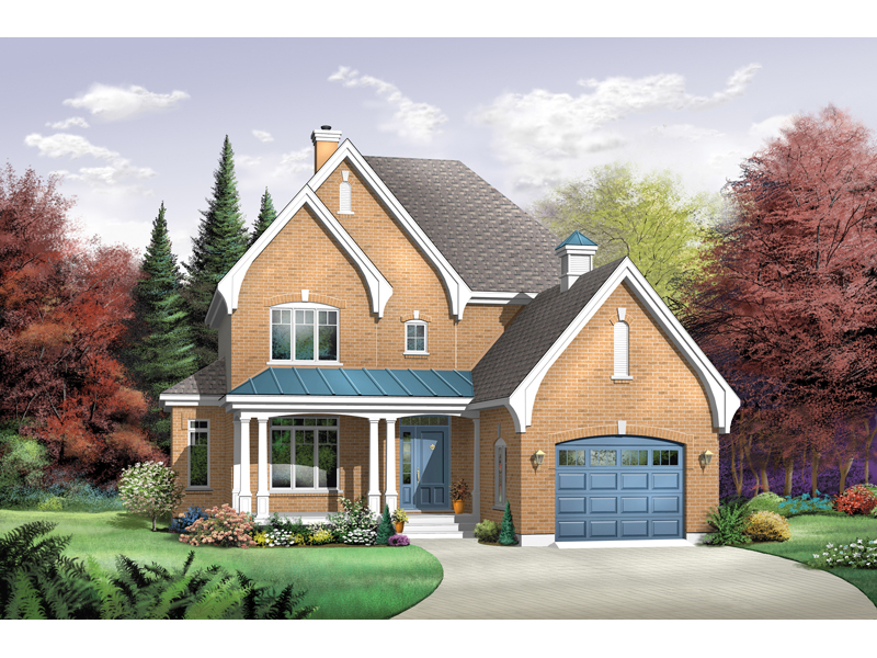 Southern House Plan Front of Home - 032D-0475 | House Plans and More