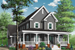 Traditional House Plan Front Photo 01 - 032D-0478 | House Plans and More