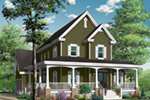 Traditional House Plan Front Photo 03 - 032D-0478 | House Plans and More