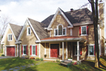 Exceptional Traditional Plan With Triple Steep Gables