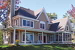 Traditional House Plan Rear Photo 01 - 032D-0481 | House Plans and More