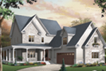 Craftsman House Plan Front Photo 01 - 032D-0482 | House Plans and More