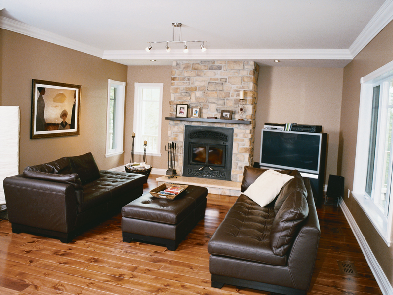 Country House Plan Living Room Photo 01 032D-0482