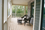 Traditional House Plan Rear Porch Photo - 032D-0482 | House Plans and More