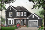 Farmhouse Plan Front Photo 01 - 032D-0484 | House Plans and More