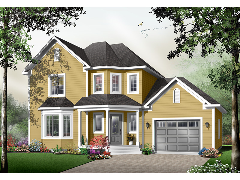 Farmhouse Plan Front Photo 02 - 032D-0484 | House Plans and More