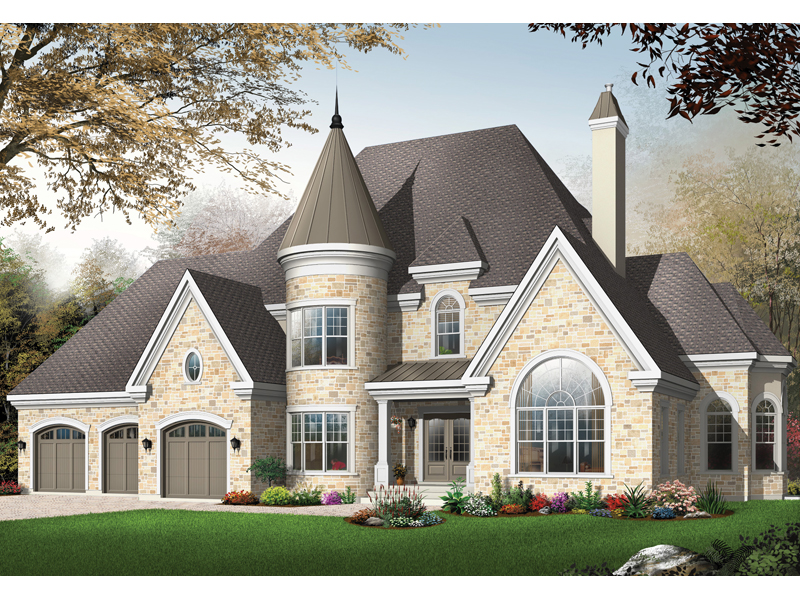 Matilda Manor Luxury Home Plan 032D 0492