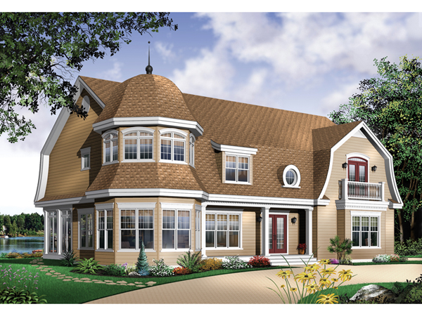 Belsano Luxury Farmhouse Plan 032D-0494