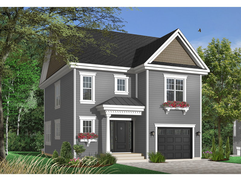 Shingle House Plan Front Photo 01 - 032D-0498 | House Plans and More