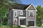 Traditional House Plan Front Photo 01 - 032D-0498 | House Plans and More