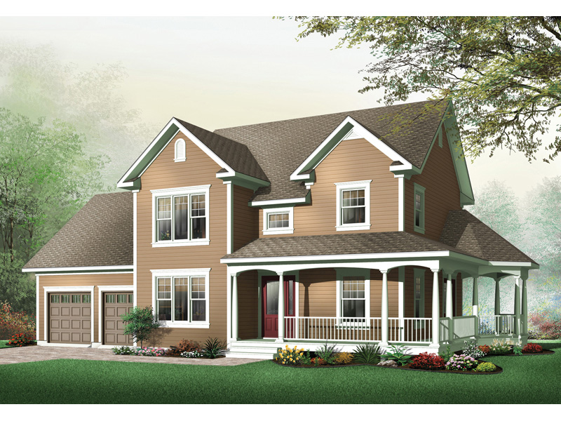 Country House Plan Front Image - 032D-0502 | House Plans and More