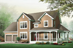Traditional House Plan Front Image - 032D-0502 | House Plans and More