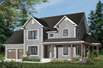 Country House Plan Front Photo 02 - 032D-0502 | House Plans and More