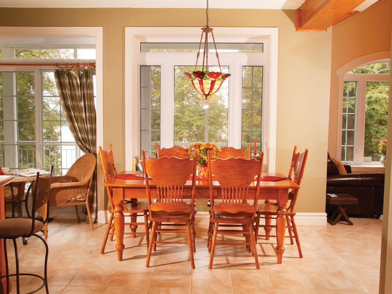 Country House Plan Dining Room Photo 01 032D-0503