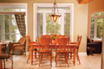 Lake House Plan Dining Room Photo 01 - 032D-0503 | House Plans and More