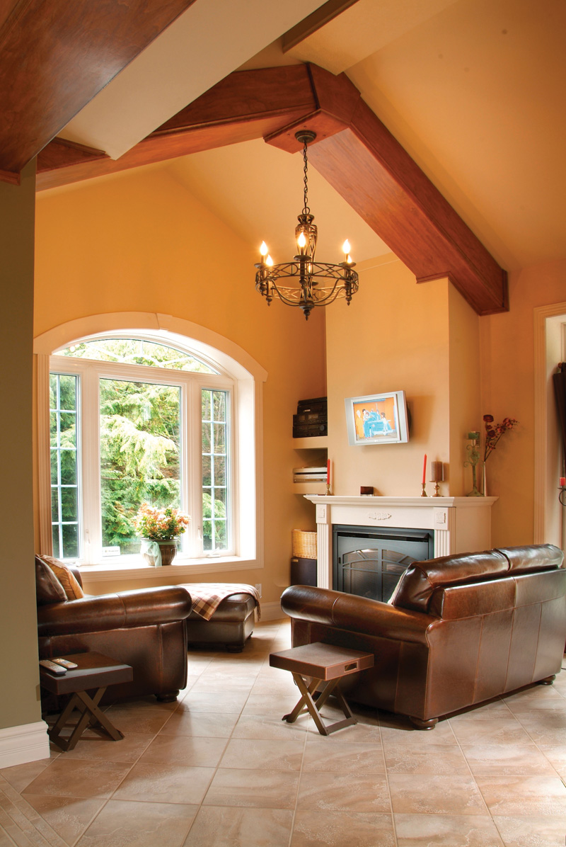Traditional House Plan Living Room Photo 01 032D-0503