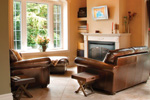 Country House Plan Living Room Photo 01 - 032D-0503 | House Plans and More