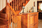 Farmhouse Plan Stairs Photo - 032D-0503 | House Plans and More