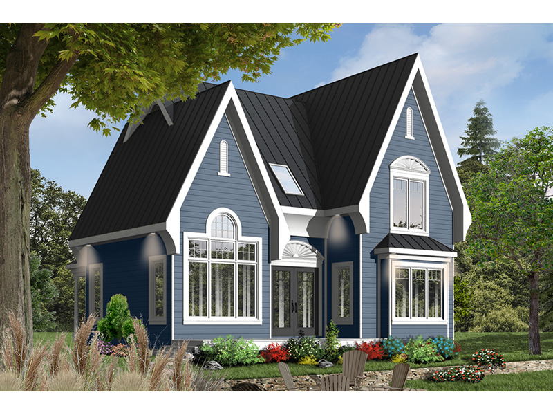 Mountain Home Plan Front Photo 02 - 032D-0518 | House Plans and More