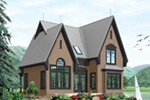 Mountain Home Plan Front Photo 03 - 032D-0518 | House Plans and More