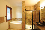 Mountain Home Plan Bathroom Photo 01 - 032D-0520 | House Plans and More