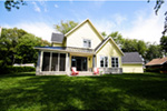 Traditional House Plan Rear Photo 02 - 032D-0523 | House Plans and More