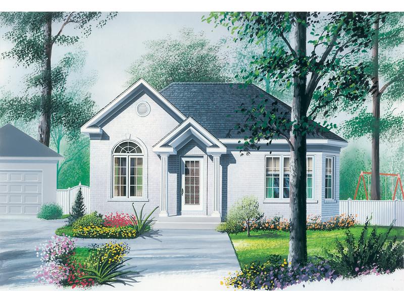 Sleek Stucco Cottage Perfect For Sunbelt Region