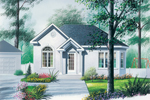 Sleek Stucco Cottage Perfect For Sunbelt Region
